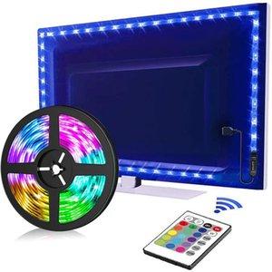 Strips Led Strip Rgb 2835 Verlichting Bluetooth Controle Usb 5V Flexibele Lamp Tape Diode Festival Fita Slaapkamer Tira Luce
