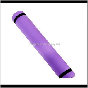 Mats Indoor Fitness Training Yoga Thick Folding Pad Pilates Supplies Nonslip Game Mat Yo8Yt Erwwn