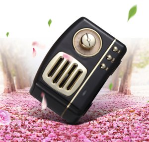 creative HM11 retro bluetooth speaker wireless portable card subwoofer ABS plastic electroplating U disk TF card audio output 400mAh