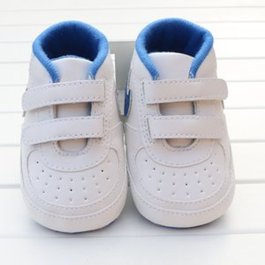 Baby Boys Girls Toddler Shoes PU Leather Soft-Soled Anti-Slip Newborn Sneakers Shoes