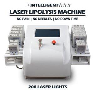 2021 معدات تخفيض الدهون في الليزر المحمولة ليزر ديود ليزرليبو آلة فقدان الوزن 2 سنوات الضمان