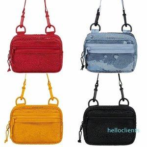 Designer Mesh Transparent Beach Bags Women Fashion Shoulder Bag Tote Bags Travel Organizer Women Large Capacity Bag Cross body Bags