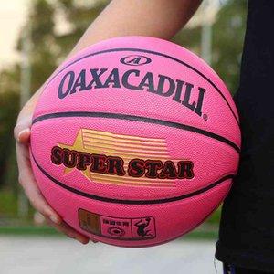 Children's rubber deep ditch thickened kindergarten pupils 4 No. 5 Pu children's basketball