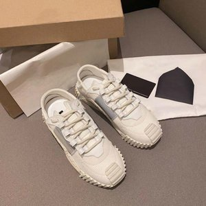 Top Quality Mens Womens Luxurys Designers Shoes Leather Sneaker Embroidery Classic Trainers Lover Trainer Sneakers With Box home011 04