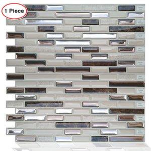 Moroccan Stick Tile Stickers Self Adhesive Waterproof Kitchen Bathroom Vinyl Mosaic Peel