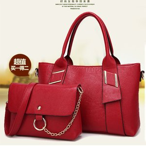 2021 new ladies' litchi women's bag, and autumn bag fashion messenger bags, winter pattern trendy shoulder single Emhac