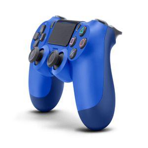 Ny trådlös PS4-kontroller Dualshock4 PS4 för Sony PlayStation4 Blue + USB-kabel