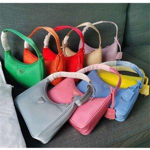 2021DesignerDesigner luxury bag high quality handbag Hobo vintage fashion good match women's bags nylon reedition 2005 Single shoulder span