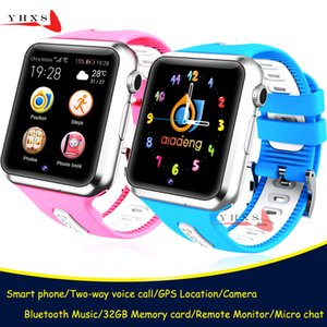 Smart GPS Tracer Location Bluetooth Watch with Camera Pedometer Remote Monitor Touch Screen Phone Wristwatch for Kids Student