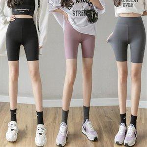 Womens Skinny Leggings Fashion Trend High Waist Abdomen Hip Lift Sports Cycling Shorts Female Casual Slim Running Fitness Yoga Short Pant