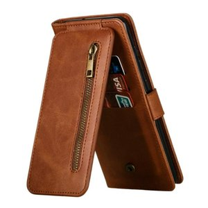 Zipper Flip Etui For A51 Case A12 A02S A32 A42 A52 A50 A70 A71 52 Wallet Cover Galaxy A72 A 71 A31 A21S M31 Coque Cell Phone Cases