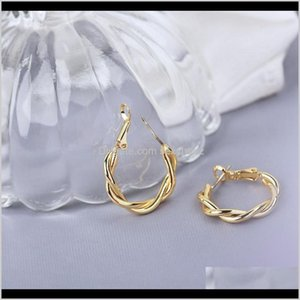 & Hie Drop Delivery 2021 22K 23K 24K Thai Baht Fine Yellow Solid Gold Gp Earrings Hoop E India Jewelry Brincos Top Quality Wave 51 U2 Johux