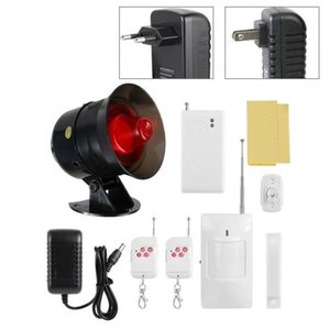Alarm System Kits Home Security Alert IR Sensor Wireless Anti-Theft Motion Detector Monitor 100-240V Alarme Residencial Systems