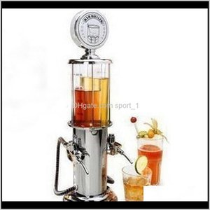 Tools Barware Kitchen Dining Home Garden Drop Delivery 2021 900Ml Liquor Alcohol Gas Station Bar Family Beer Beverage Water Juice Dispenser H