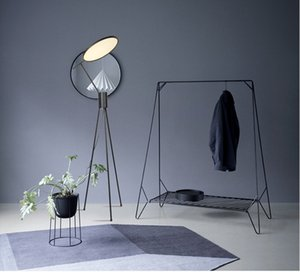 Led tripod floor lamp Italian individual creativity  model room minimalist exhibition hall bedroom living