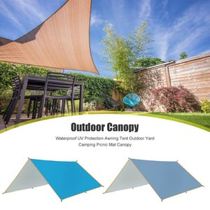 3*3 UV Protection Awning Tent Portable Yard Waterproof Mat Canopy With Storage Bag Outdoor Camping Picnic Traveling Accessories
