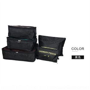 rAF korean version underwear bags travel wash travel make up portable storage 6 sets of clothes luggage shoes storage bag 6 sets
