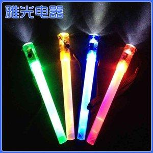 사출 성형 플라스틱 플래시 야구 팬 램프 콘서트 응원 소품 대형 형광 전자 LED 발광 막대기