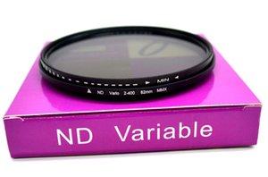 Adjustable nd dimmer nd2-400 medium gray density filter 37mm-82mm camera filter