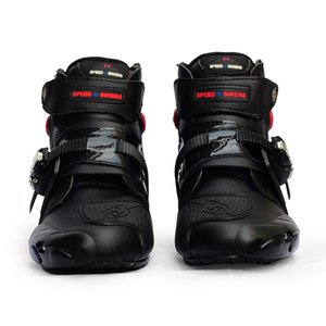 Cross Country Motorcycle Riding Shoes Short Boots Anti Falling Wear Resistant Racing Road Men's and Women's Knight Sales