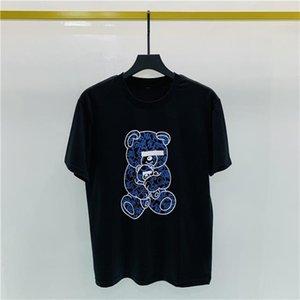 Designer di Lussurys Dress T Shirt T Shirt da uomo Equipaggia Embroidery Lettera Pattern Stampa Traspirante Uomo Casual Tops Donna manica corta Tees di alta qualità S-2XL # 14
