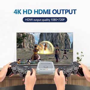 Super Console X-PRO Retro TV Game Video With Wireless Controllers Built-in 50 Emulators 33000 Games For PSP Portable Players