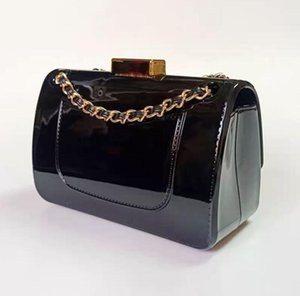 Paris women Super shiny brand evening bag sexy 3-color Acrylic mirror style Lady handbag Fashion Clutch Wallet