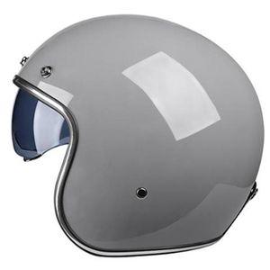 Motorcycle Helmets DOT Approved Japan Korea Style VOSS Cafe Racer 3 4 Open Face Helmet Vintage Retro Scooter Racing Casco Moto Capacete