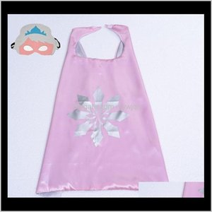 101 Designs 70*70Cm Double Layer Children With Mask Kids Cartoon Cape For Christmas Halloween Party Cosplay Stage B8T89 Izs0L