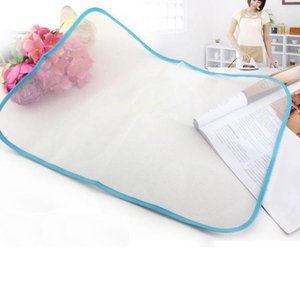 Ironing Boards 5PC Heat Resistant Cloth Mesh Board Mat Clothes Cover Protect Pad 60*40cm Random Color