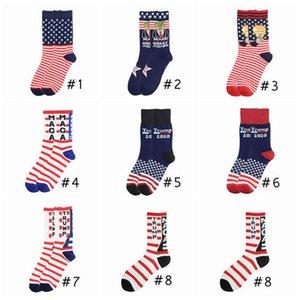 2024 President Trump Letter Stockings Striped Stars US Flag Sports Socks MAGA Sock Party Favor