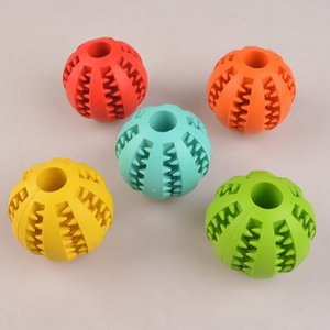 Rubber Chew Ball Dog Toys Training Toys Toothbrush Chews Toy Food Balls Pet Product Drop Ship 360061 511 S2