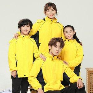 2021 Лыжный костюм Сиамский носить водонепроницаемые теплые девушки и мальчики снег сноуборд куртка открытая одежда A13