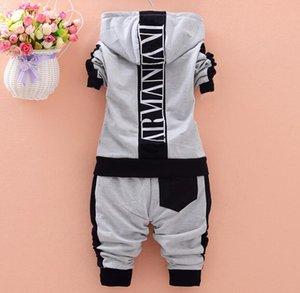 Newborn Baby Boy Clothes Sets Long Sleeve T-Shirt+Pants 2PCS Suit Kids Brand Cotton Infant Girl Dress Bebes Jogging Tracksuit