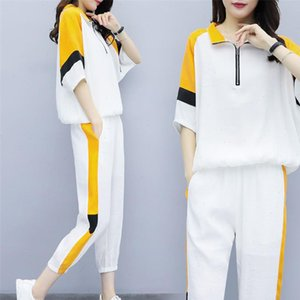 Female Outfits Women Tracksuits 2 Piece Matching Set Plus Size Tracksuit Sportswear Co ord Sets for Pants Top