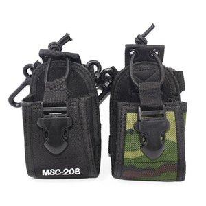 Walkie Talkie 50pcs Radio Case Holder MSC-20B Portable Pouch For UV-5R UV-82 DM-5R Accessories Carry