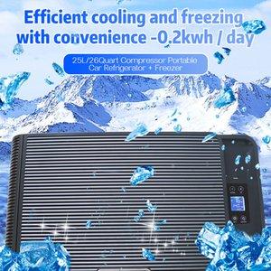 25L Portable freezer heater Campervan boating caravan bar refrigerator car refrigerators