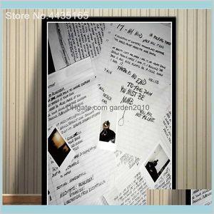 Dipinti Arti, Artigianato Regali Casa Giardino domestico XXXTetacion Rapper Musica Cantante Manifestazione Poster e stampe Plams Wall Art Picture per Soggiorno Decor