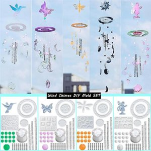 Craft Tools 1 Set Wind Chime Epoxy DIY Mold Sun Star Moon Bell Making Kit Handmade Easy Release Material