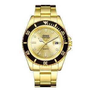 Дизайнерские часы Марка Часы Роскошные Часы 30 м Водонепроницаемый Дата Часы Мужчины Спорт Мужчины Кварцевый Запястье Relogio Masculino