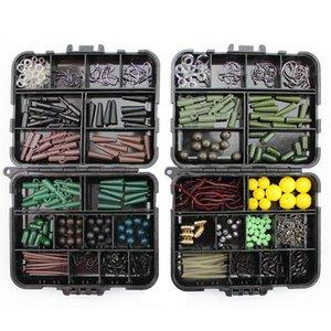189pcs box Portable Fishing Tackles Box Accessories Kit Set For Carp Bait Lure Ice Winter Accessoire Tool Sets