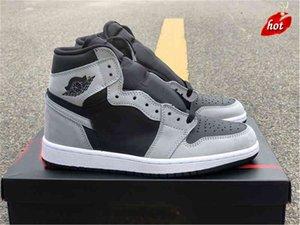 صدر أصيلة عالية og الظل 2.0 أحذية أسود أبيض ضوء دخان رمادي الكأس غرفة شيكاغو فرق رويال ترافيس سكوت شظية العسكرية
