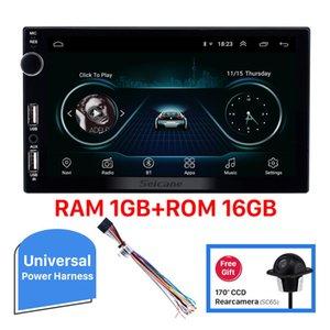 "RAM 2GB Android 10 7"" Universal Car dvd Radio 2Din Autostereo Multimedia Player For TOYOTA Nissan Kia RAV4 Honda VW Hyundai BYD"