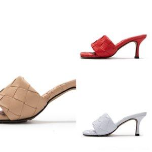 8naa8 yüksek kaliteli tasarımcı ayakkabı! Yaz Tasarımcısı kadın Yüksek Kadın Kaliteli Meyve Lüks Slayt Yüksek Topuk Terlik Lüks Terlik
