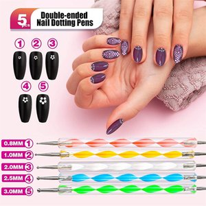 QualityNail Art Kits Acrylic Poly Nails Gel Brushes Pen Dotting Painting Designer Stickers Tools Accessories Supplies for Manicure Sets