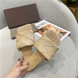 Sexy Flachfolien Lido Sandalen gewebt Frauen Hausschuhe Square Maultiere Schuhe Damen Hochzeit High Heels Schuhe Kleid Schuhe 10 Farbe Hohe Qualität
