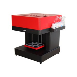Printers Upgraded Coffee Printer Machine 4 Cups For Cake Cappuccino Selfie Printing With Ink Cartridge