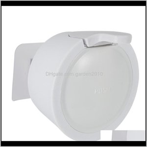 Accessories Bath Home Garden Drop Delivery 2021 Small Liquid Soap Wall Mounted Punching Plastic Shampoo Dispenser For Bathroom Kitchen El 350