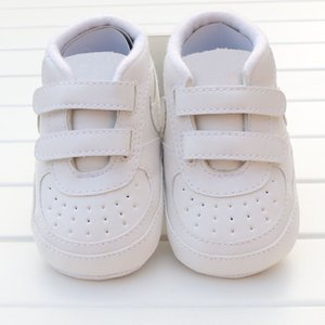 أحذية الطفل 0-18Months أطفال بنات الفتيان طفل أول مشوا المضادة للانزلاق لينة سوليد بيبي الأخفاف الرضع سرير أحذية