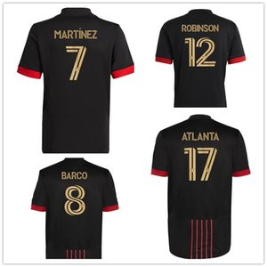 21-22 Atlanta United FC Almirón 10 Martinez 7 Nagbe 6 Barco 8 Villalba Personalizado Thai Quality Sports Jerseys, lojas de compras online